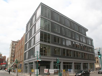 Friday Photos: Mercantile Building's Glassy Addition