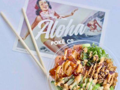 Now Serving: New Poke and Palestinian Restaurants