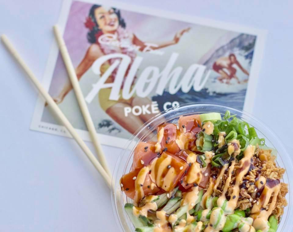Aloha Poké Co. Photo from Facebook.