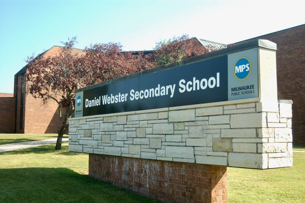 Daniel Webster Secondary School. Photo courtesy of NNS.