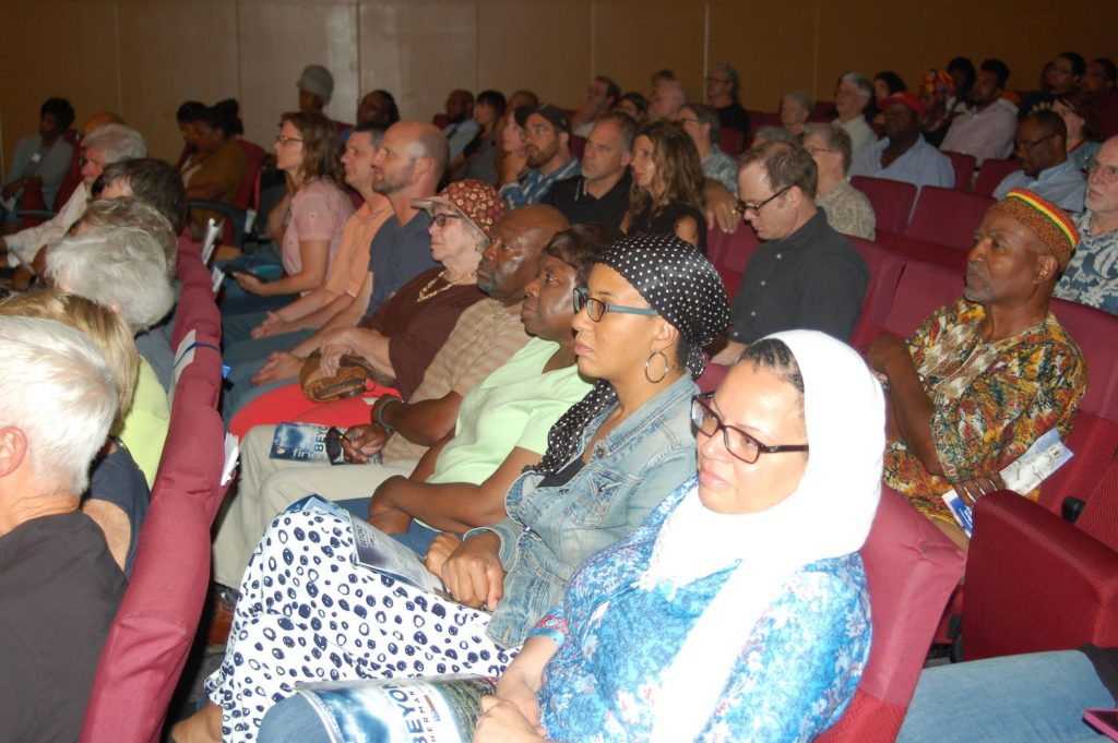 About 270 community members gathered at Parklawn Assembly of God Church for Milwaukee PBS' event. Photo by Andrea Waxman.
