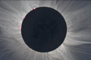 Visitors will safely view the solar eclipse at a program of Wehr Nature Center, Aug. 21, from noon-2 p.m. Image from NASA.gov showing the sun's corona during a solar eclipse. Photo from Milwaukee County Parks.