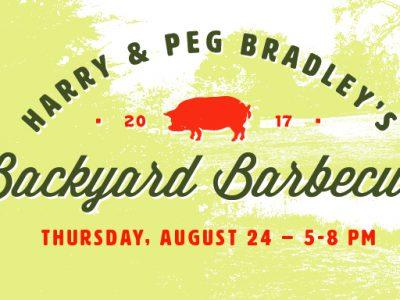 Harry & Peg Bradley's Backyard Barbecue, August 24