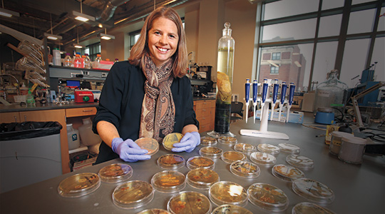 Brooke Mayer. Photo courtesy of Marquette University.