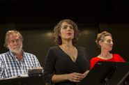 Mark Bucher, Beth Mulkerron, Angela Iannone. Photo by Traveling Lemur Productions.
