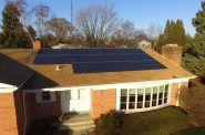 8 kW array installed by SunVest Solar. Photo courtesy of SunVest Solar.
