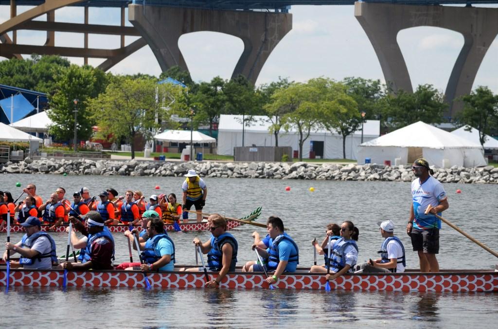 2017 Milwaukee Dragon Boat Festival. Photo by Jack Fennimore.