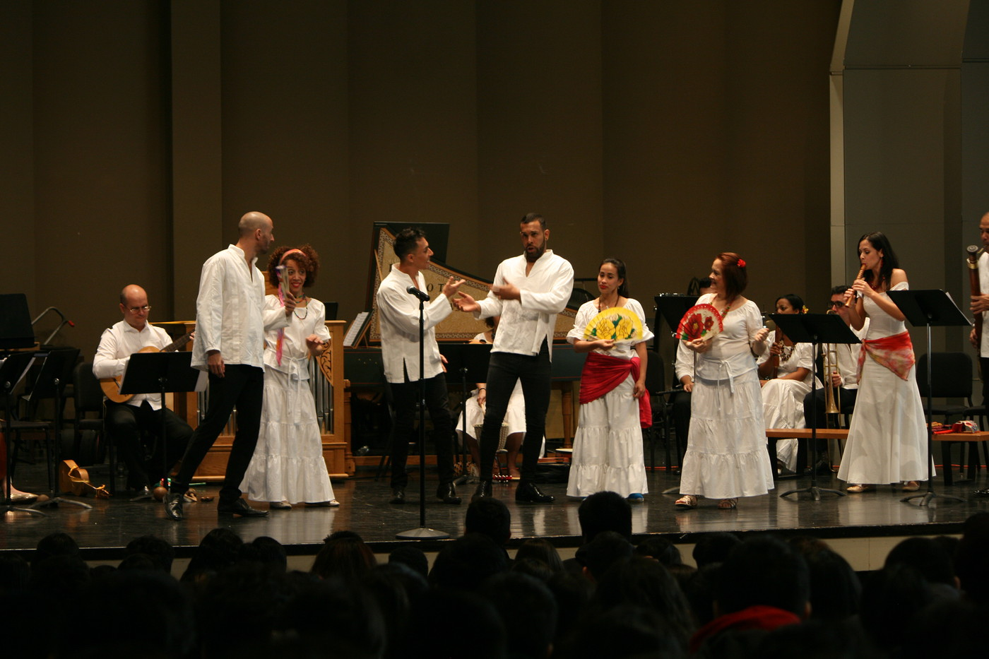 Cuban Ensemble Ars Long de La Habana performing at the UWM Zelazo Center. Photo courtesy of Early Music Now.