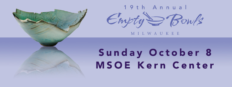 Milwaukee Empty Bowls Announces 19th Annual Fundraiser