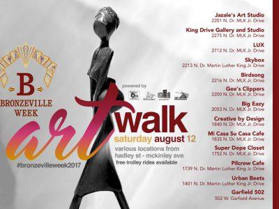 Saturday's Art Walk offers colorful & fun cap to Bronzeville Week