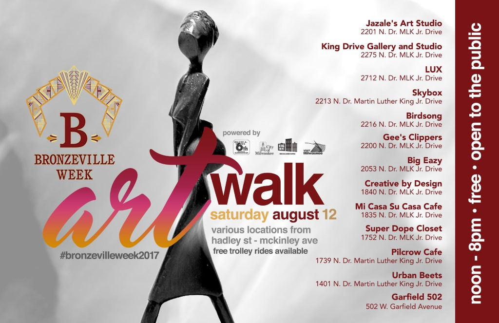 Saturday's Art Walk offers colorful & fun cap to Bronzeville Week