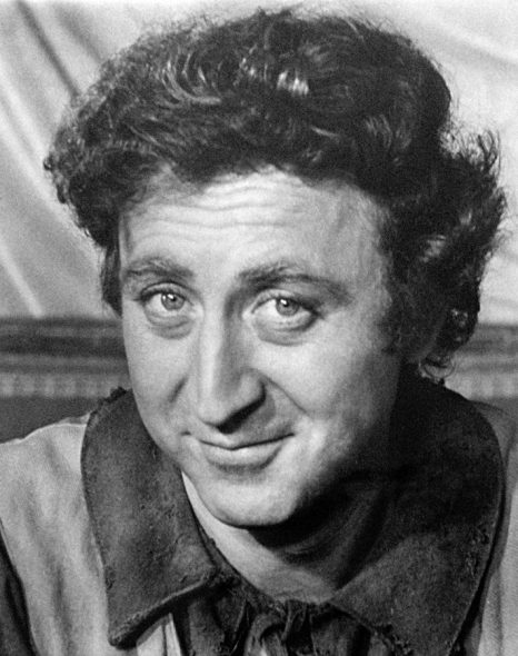 Gene Wilder. Photo is in the Public Domain.