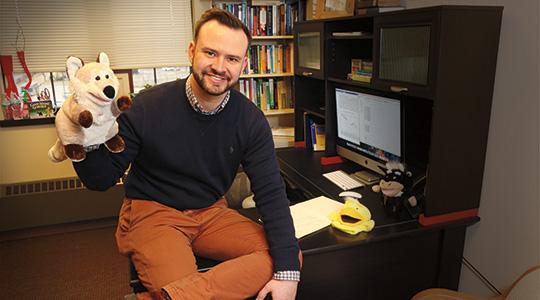 Nicholas Heck. Photo courtesy of Marquette University.