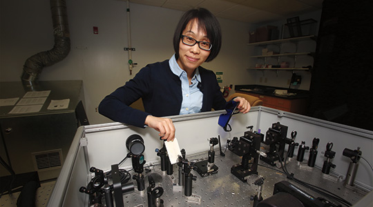 Jier Huang. Photo courtesy of Marquette University.