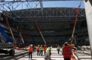 Inside the New Bucks Arena. Photo by Graham Kilmer.