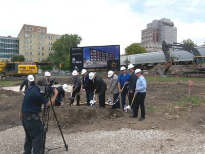The Quin Breaks Ground in Walker's Point