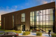 Rendering of Milwaukee Ballet's proposed building at 132 N. Jackson St. Rendering by HGA Architects and Engineers.
