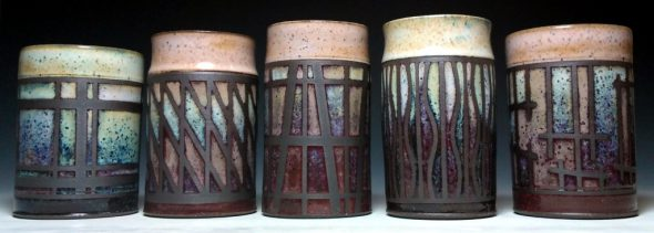 Ryan Peters of Waukesha has been named a one of the featured artists for the 2017 Starving Artists' Show for his raku-fired pottery. The show will be held Sept. 10 on the west lawn of Mount Mary University.