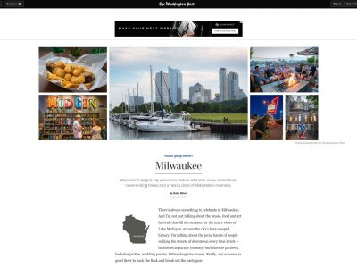 Milwaukee Featured in <em>The Washington Post</em>