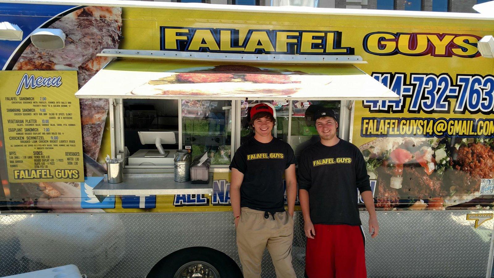 Falafel Guys Food Truck Menu
