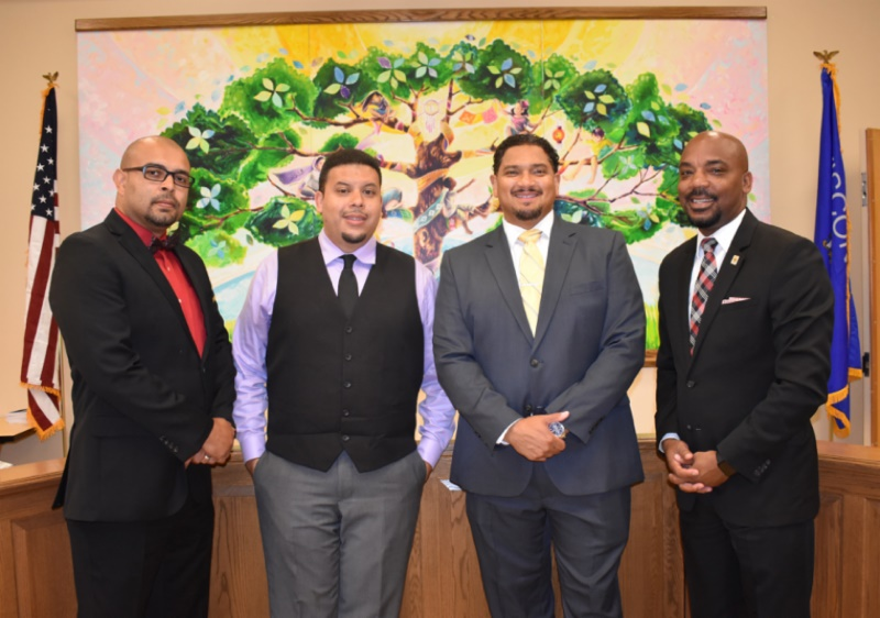 Juan Baez, David Castillo, Paul Moga, Lanelle Ramey. Photo from MPS.