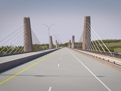 Wisconsin Governor Walker, Minnesota Governor Dayton Officially Open the St. Croix Crossing