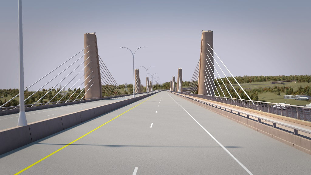 St. Croix Crossing Rendering.