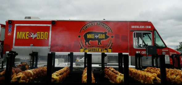 Timber's BBQ Truck. Photo from Facebook.