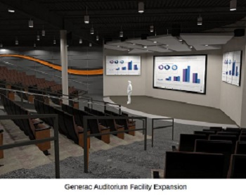 Generac Auditorium Facility Expansion