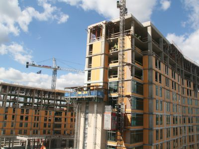 Friday Photos: Marquette's New Residence Hall Towers Above