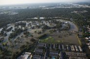 Flooding from Hurricane Harvey. Photo from the U.S Department of Defense.