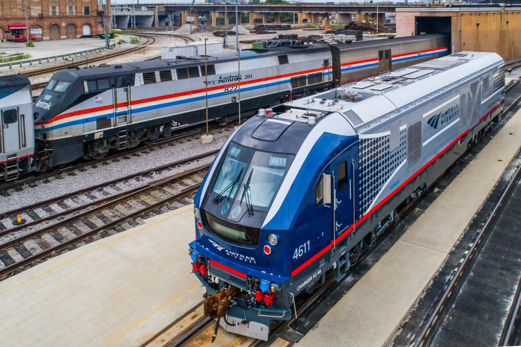 Siemens Charger. Photo by Amtrak.