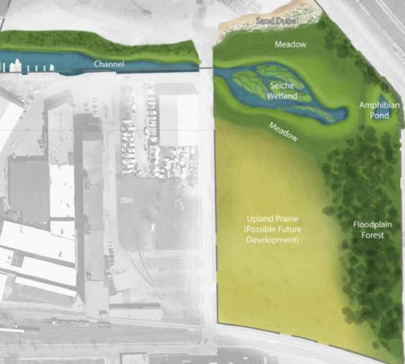 Wetland plan.