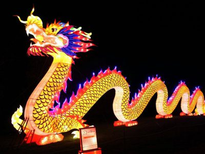 China Lights at Boerner Botanical Gardens a Big Success