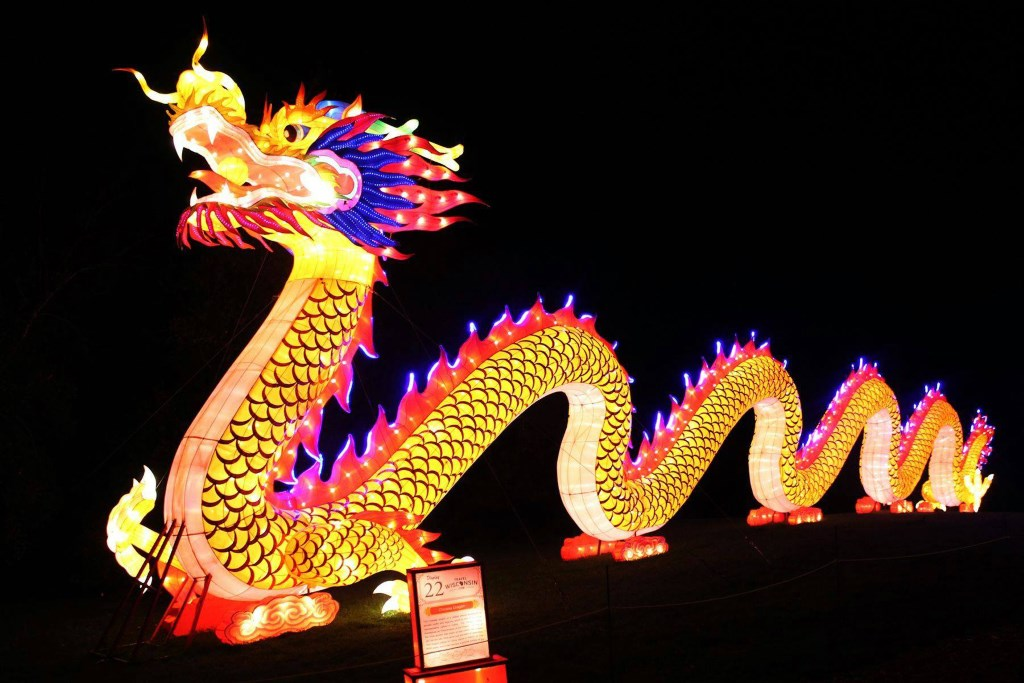 China Lights Lantern Festival at Boerner Botanical Gardens Celebrates Final Week – Ends Oct. 29