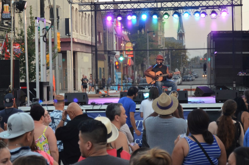 Inaugural 5th Street Fest. Photo by Jack Fennimore.