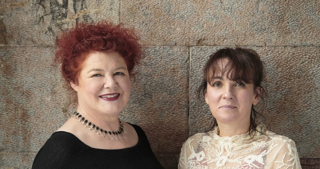 Maura O'Connell and Karan Casey at the Irish Cultural and Heritage Center Nov. 10