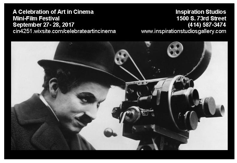 A Celebration of Art in Cinema–Mini Film Festival at Inspiration Studios