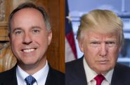 Robin Vos and Donald Trump.