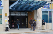 FoodShare recipients utilize the Marcia Coggs Center on 12th and Vliet. Photo by Sue Vliet.