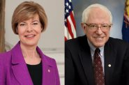 Tammy Baldwin and Bernie Sanders.