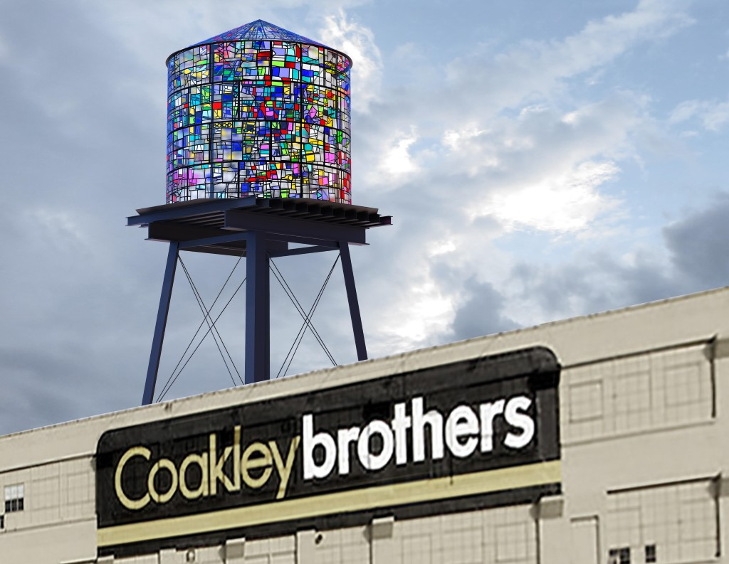 Coakley Brothers' Water Tower rendering.
