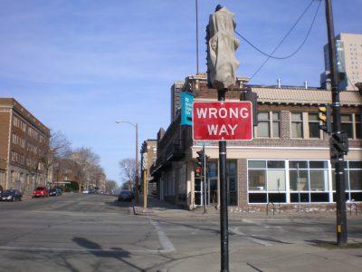 Wrong Way Walker