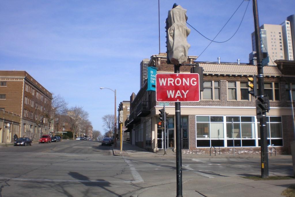 Wrong Way.