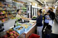 The Asian International Market is a locally owned small business that provides healthy food options to residents on Milwaukee's south side. Photo courtesy of LISC.