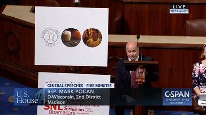 Congressman Pocan joining Americans to #TakeAKnee on the House Floor. Click here to watch the full video.