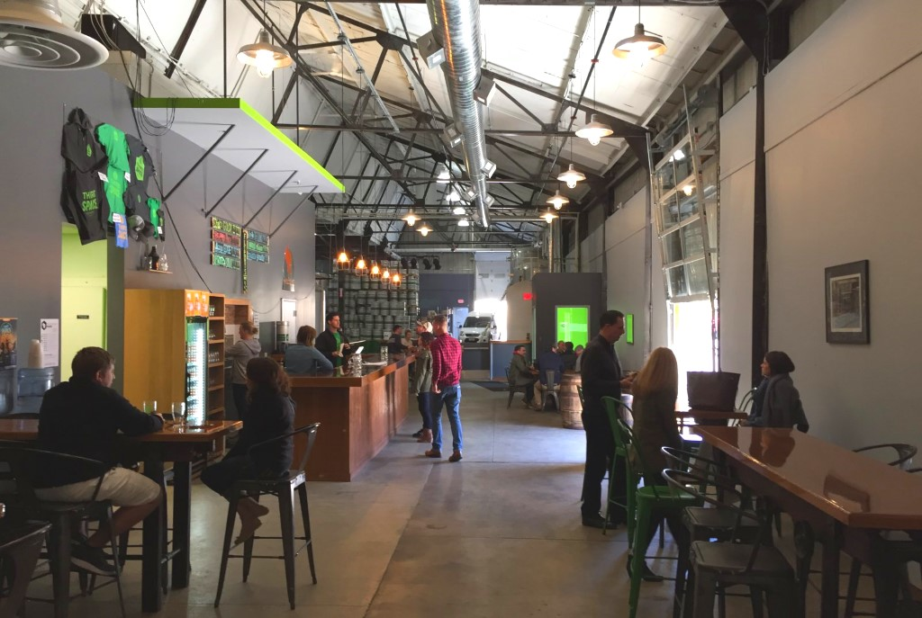 Third Space Brewing Company. Photo by Dave Reid.