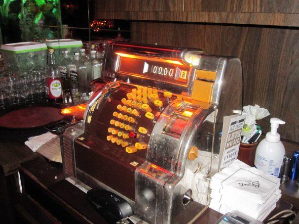 Cash register. Photo by Michael Horne.