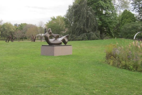 Henry Moore bronze sculpture. Photo by Michael Horne.