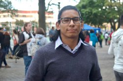 Denis Montero, 26, received DACA status in the fall of 2012. (Photo by Edgar Mendez)